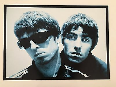 Oasis,'noel And Liam' By Paul Slattery,rare Authentic 1996 Poster