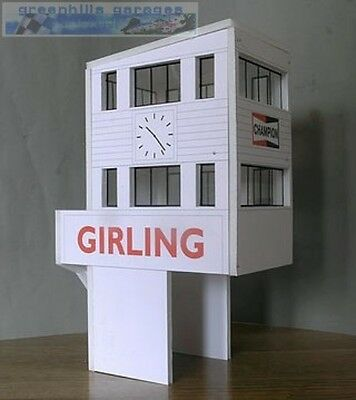 Greenhills Scalextric Slot Car Building Goodwood Control Tower Kit 1:32 scale -