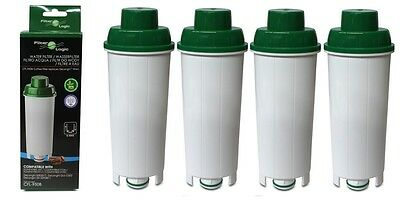 4x Filterlogic CFL950 Water filter fits Delonghi SER3017 Espresso Coffee DLSC002