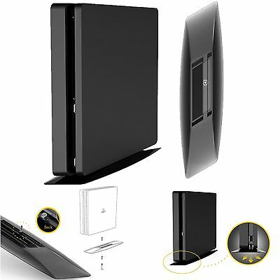 Console Vertical Stand Cradle Holder Base For Sony Playstation 4 PS4 Slim & Pro