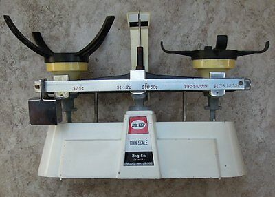 Vintage Salter Coin Scales