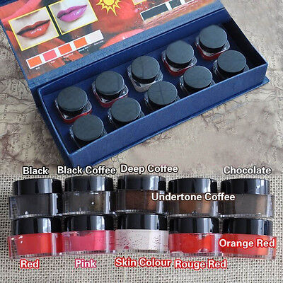 Pro High-graded Microblading Pigment Permanent Makeup Eyebrow Lip Tattoo Ink