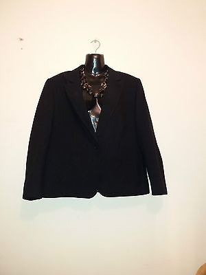 Ladies/girls classic Black jacket size 18 from M & S