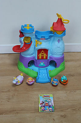 Playskool Weebles Weebalot Musical Castle Sounds, Figures and Accessories