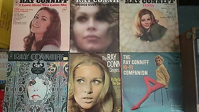 Bulk Job Lot of 6 Ray Conniff Albums LP Vinyl Records  VG to Ex+ Same day post