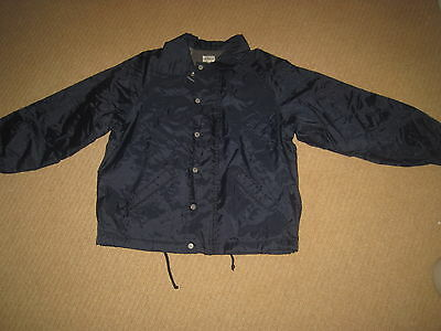 Boys CALVIN KLEIN Navy Blue Lightly Padded Coat Jacket  Age 10 yrs