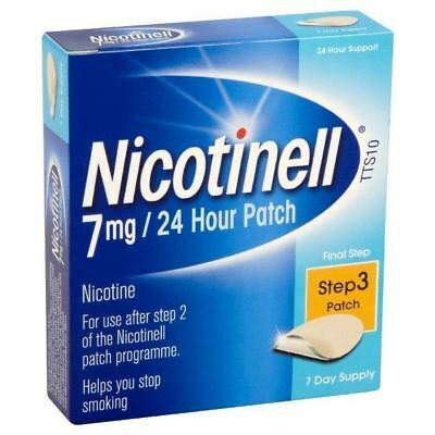 Nicotinell Nicotine Patch TTS10 , 7mg - Step 3 - 7 Days Supply