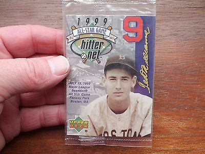 """Ted Williams 1999 """"All Star Game Card"""" New in Pack."""