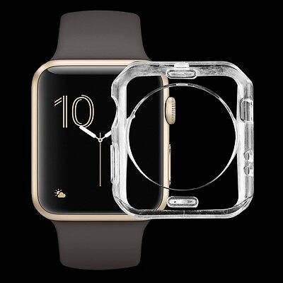 Apple Watch Series 2 (38mm) Case Ultra Thin Protective Clear Soft Gel Cover