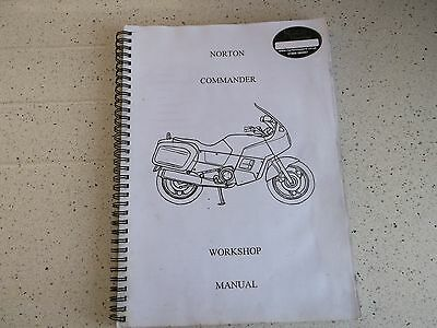 Norton rotary commander workshop manual