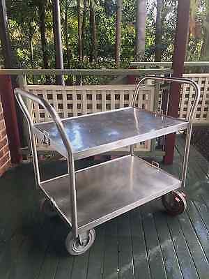 Commercial Stainless Steel Heavy Duty Trolley