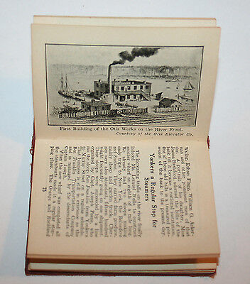 OLD YONKERS 1646-1922 MINIATURE BOOK PHOTOS YONKERS by H. C. BROWN PUBL. 1922