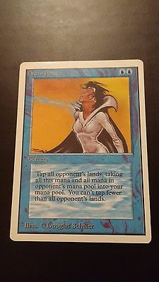 Magic The Gathering MTG - Unlimited - Drain Power - Light Play - Rare