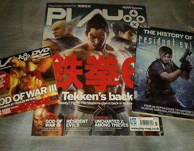 Play Magazine Tekken's Back & Free Gifts Issue 177 PlayStation 2 3 PSP