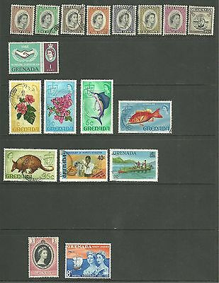 Grenada: 1953-1980 A selection Used + M/M + MNH