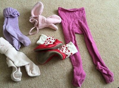 Age 4-5 Years Sock Mitten & Tights Bundle X 5