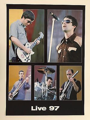 Oasis,'live 97',rare Authentic 1997 Poster