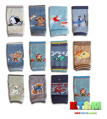 New Baby Boy Infant Toddler Crawling Safety Cotton Knee Pads Leg Warmers Socks