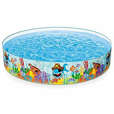 """INTEX Intex Ocean Reef Snapset Inflatable Pool, 8' X 18"""", for Ages 3+"""