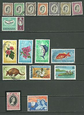 Grenada: 1953-1980 A selection used + M/M +MNH