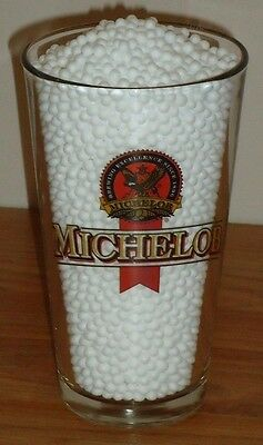 "MICHELOB Beer Glass 6""H"