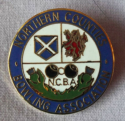 Northern Counties Bowling Association Badge