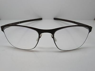 NEW Authentic IC BERLIN Marie Chocolate 50mm Eyeglasses w/ Case