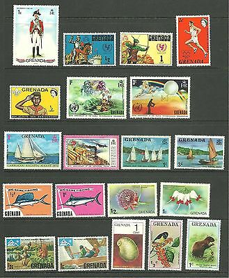 Grenada and Grenadines: 1971-1980 A M/M selection