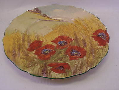 Royal Doulton DF097  Poppies in Cornfield Display Plate