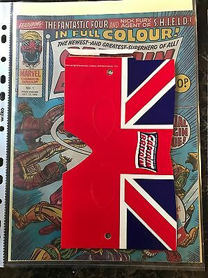 Captain Britain Comics 1-39 With All Free Gifts
