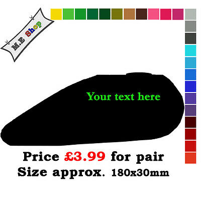 Apple Green Personalized Text Tank Fairing Decal Sticker For Motorbikes Scooters