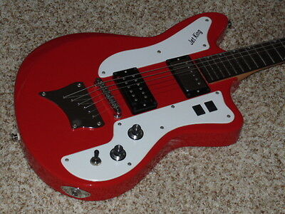 2007 Ibanez Jet King JTK2 Electric Guitar - Red - with OHSC