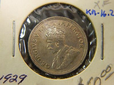 RARE 1929 South African 6 Pence Coin!! See Listing