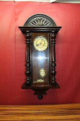 Antique-Wall-Clock- Regulator 19th century Vienna clock *Konkurrenz*