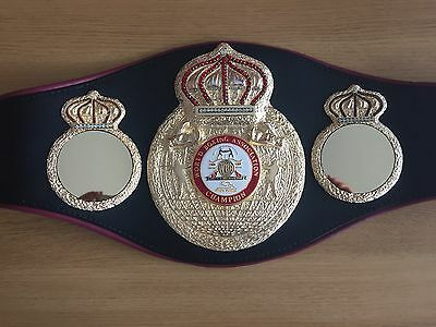 Official Old Style WBA Championship boxing belt-GENUINE!! Also Selling IBF, WBO