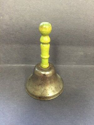 Vintage Green Handled Bell