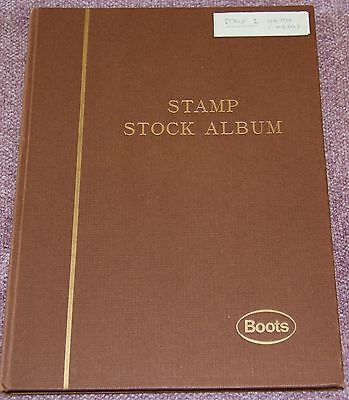Stock Book with Extensive Italy Collection