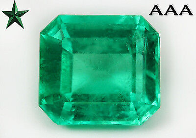 Investment Quality 12.98cts AAA+ Drop of Oil, Fine Loose Colombian Emerald Video