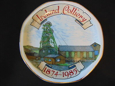 Ireland Colliery 1st Edition Commemorative Plate In Excellent Condition