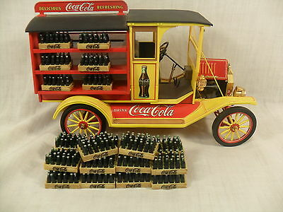 Coca Cola Ford Model T Die-Cast Metal Delivery Truck