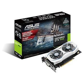 ASUS GeForce GTX 950 2GB Boost Graphics Card (slightly used)