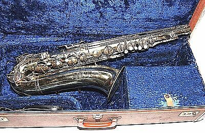 * Martin Imperial Tenor Saxophone Elkhast-Ind. USA with Hard Case