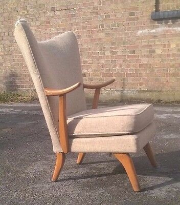 Vintage Howard Keith Cocktail Chair Mid Century