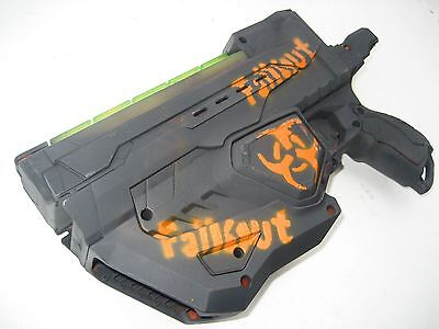 Fall out 4 Pistol Nerf Gun Disk launcher Custom painted Cosplay weapon