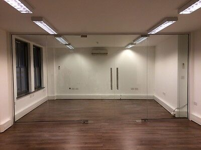 Cheap Frameless Glass Partitions 10mm Toughened Glass Office Partitions