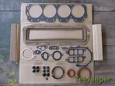 new Engine Gasket Overhaul Complete Set Jeep M151 A1 A2