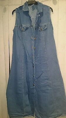 Mothercare denim maternity dress size 12