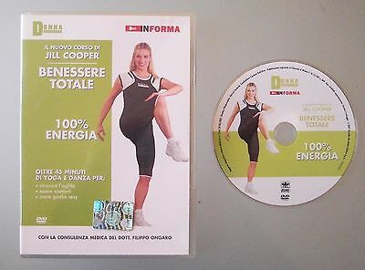 Jill Cooper Benessere Totale 100% Energia Dvd Fitness