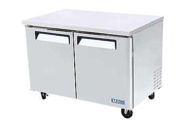 """Turbo Air 48"""" Undercounter Stainless 12 Cuft Cooler Mur-48"""
