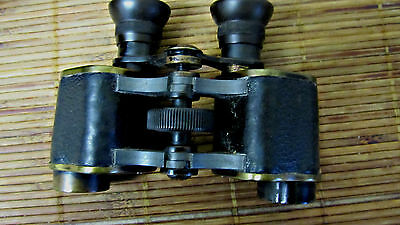 VINTAGE GERMAN WW1  'OPTICA'  8x24 BINOCULARS IN ORIGINAL CASE- COLLECTORS!